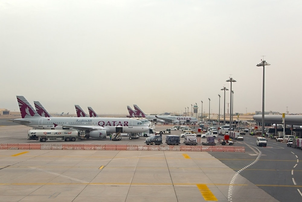 Airport in Doha/Katar
