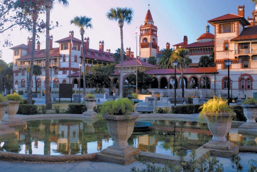 Architektur in Florida: das Flagler College