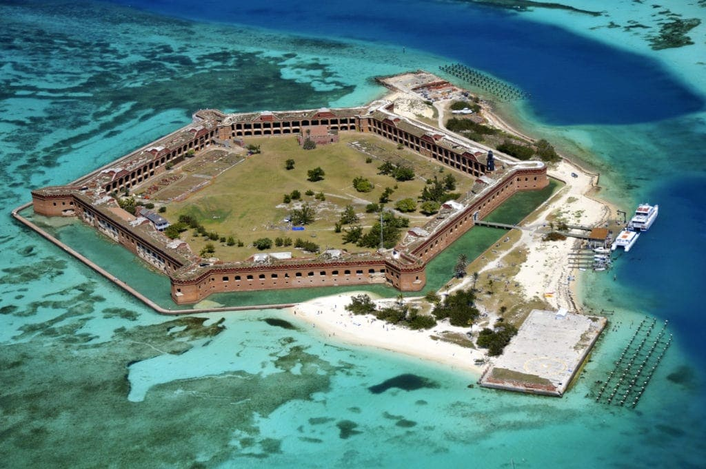 Architektur in Florida: Fort Jefferson