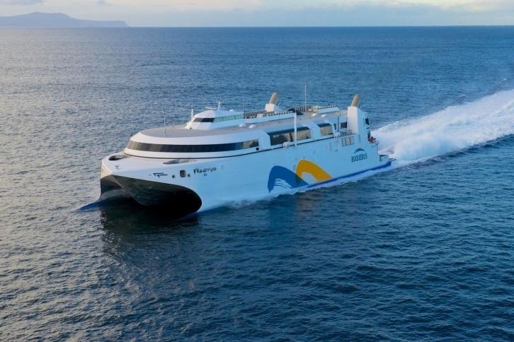 Schiffsverbindung zwischen Montevideo und Buenos Aires
