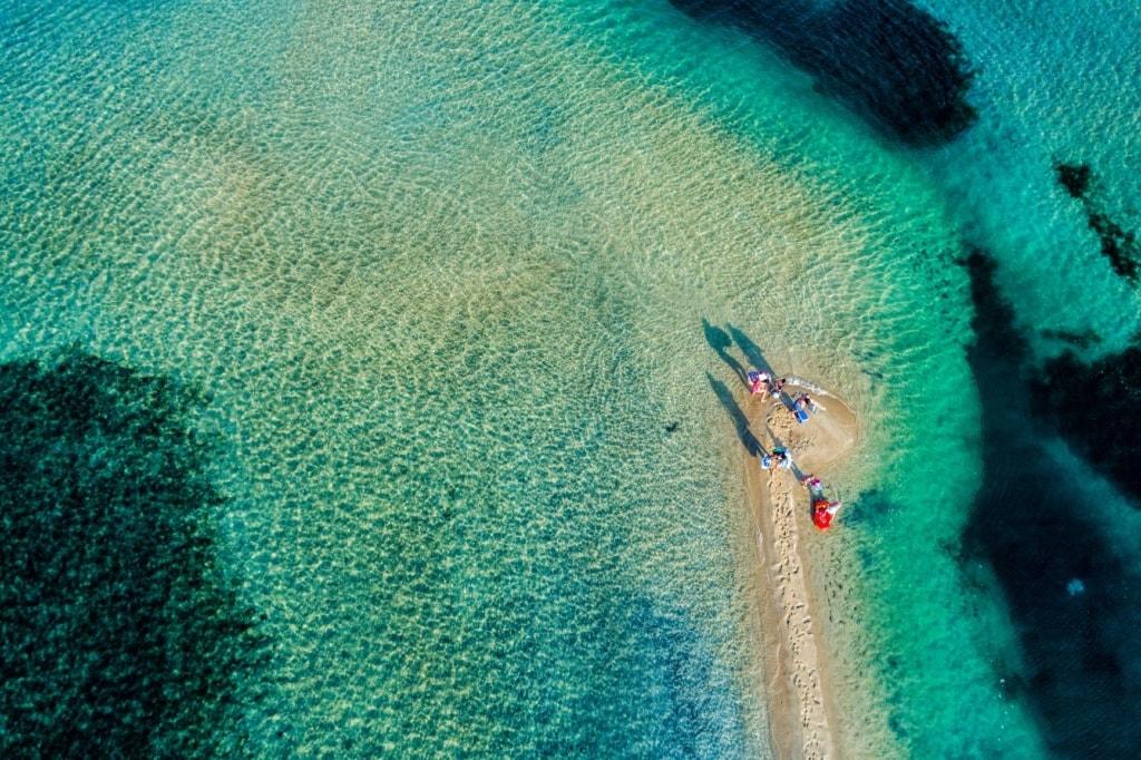 Karidi beach in der Chalkidiki