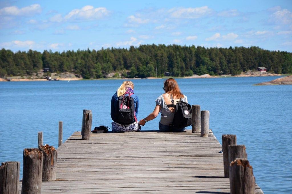 Steg in Finnland