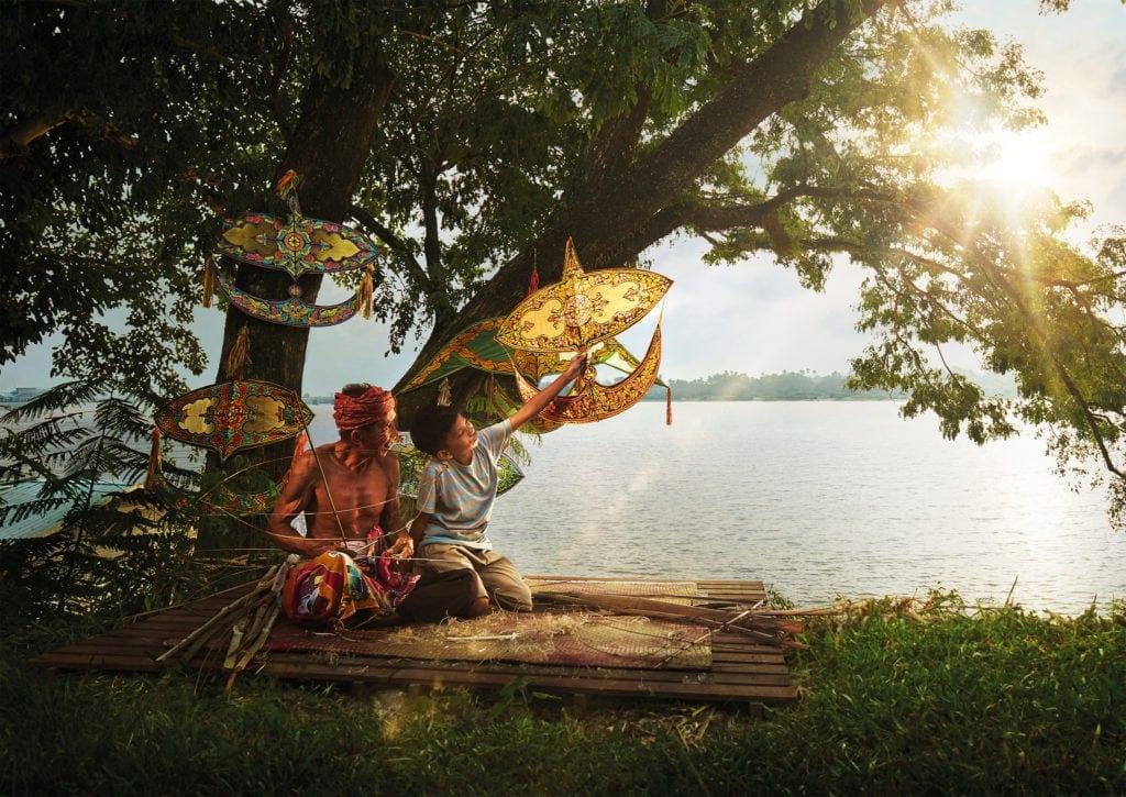 Einheimische an der Ostküste Malaysias