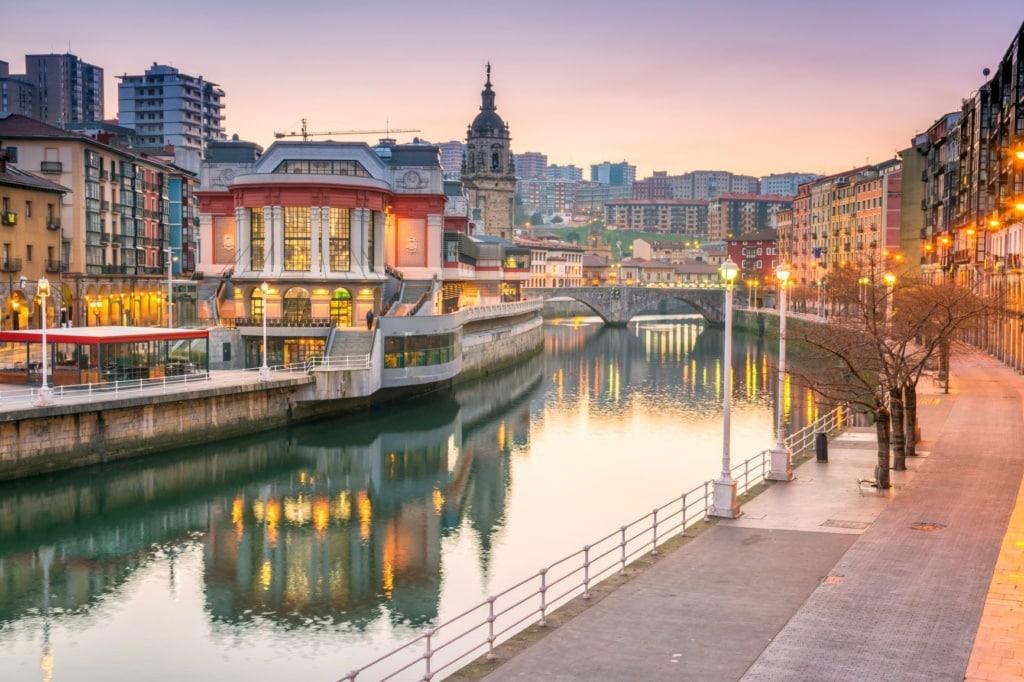 Promenade in Bilbao