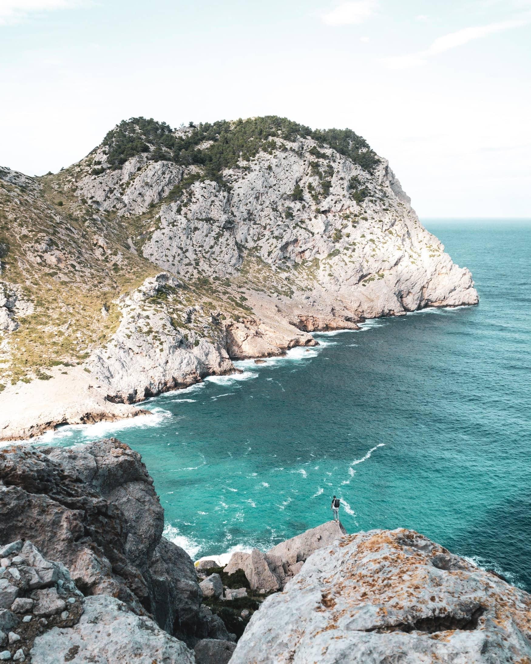 Küstenlandschaft auf Mallorca