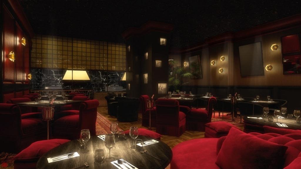 Provocateur Berlin: Blick ins Restaurant