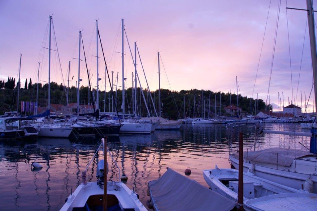 Hafen in Dalmatien