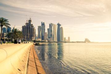 Skyline von Katar