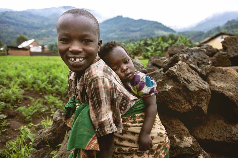 Kinder in Ruanda