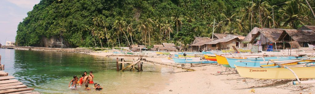 Die Philippinen bestehen aus über 7000 Inseln.