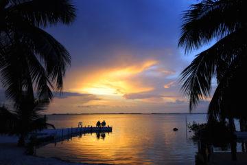 Florida Keys nachts: Sonnenuntergang bei Bay Harbor
