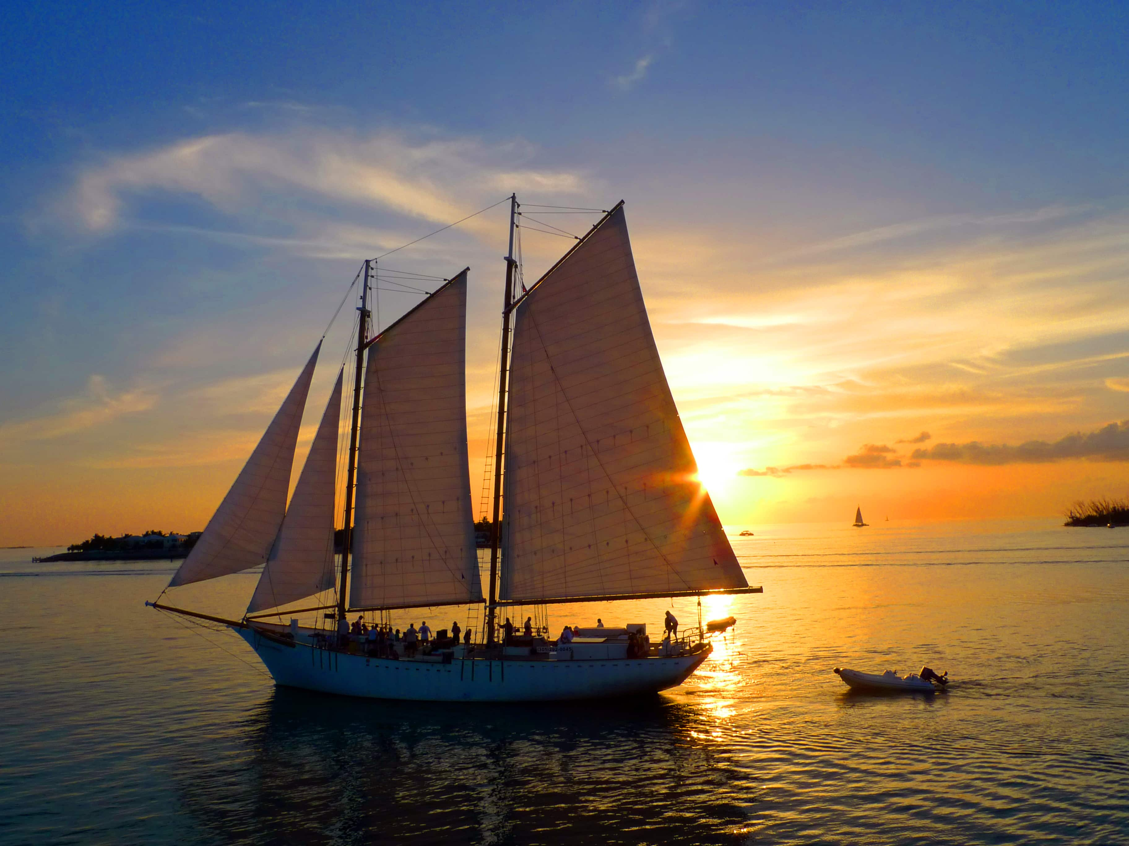 Florida Keys nachts: Sunset Cruise auf Key West