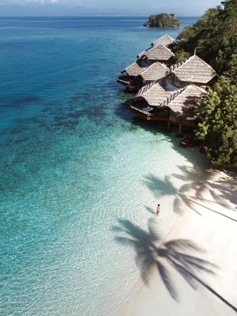 Das Pearl Farm Beach Resort auf den Philippinen ist eines der schönsten Resorts des Landes.