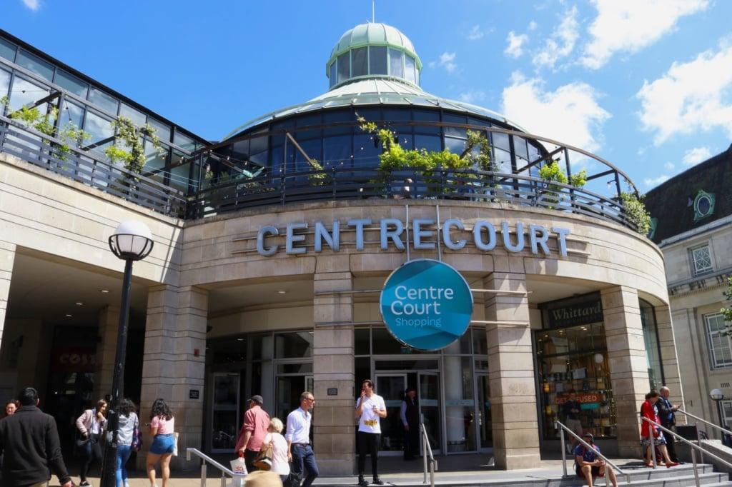Centre Court in Wimbledon