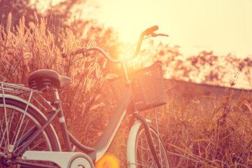 Fahrraddiebe mögen unbeobachtete Orte