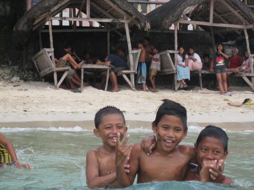 Die Philippinen sind ein kinderreiches Land, in dem viel gelacht wird.