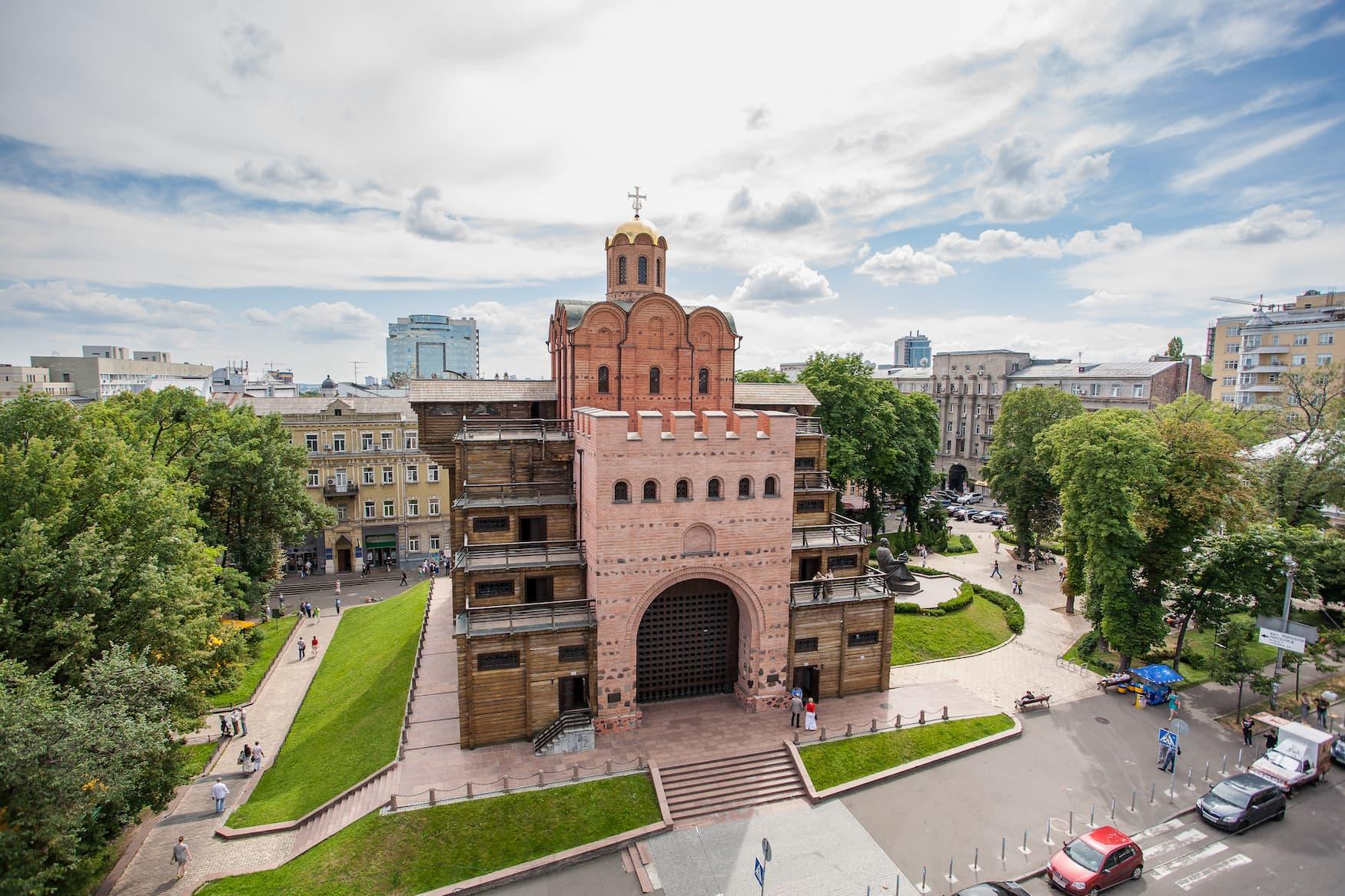 Sehenswürdigkeit in Kiew: Das Goldene Tor