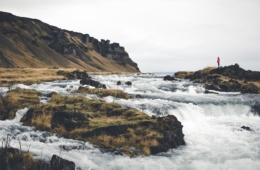 raue Küstenlandschaft auf Island