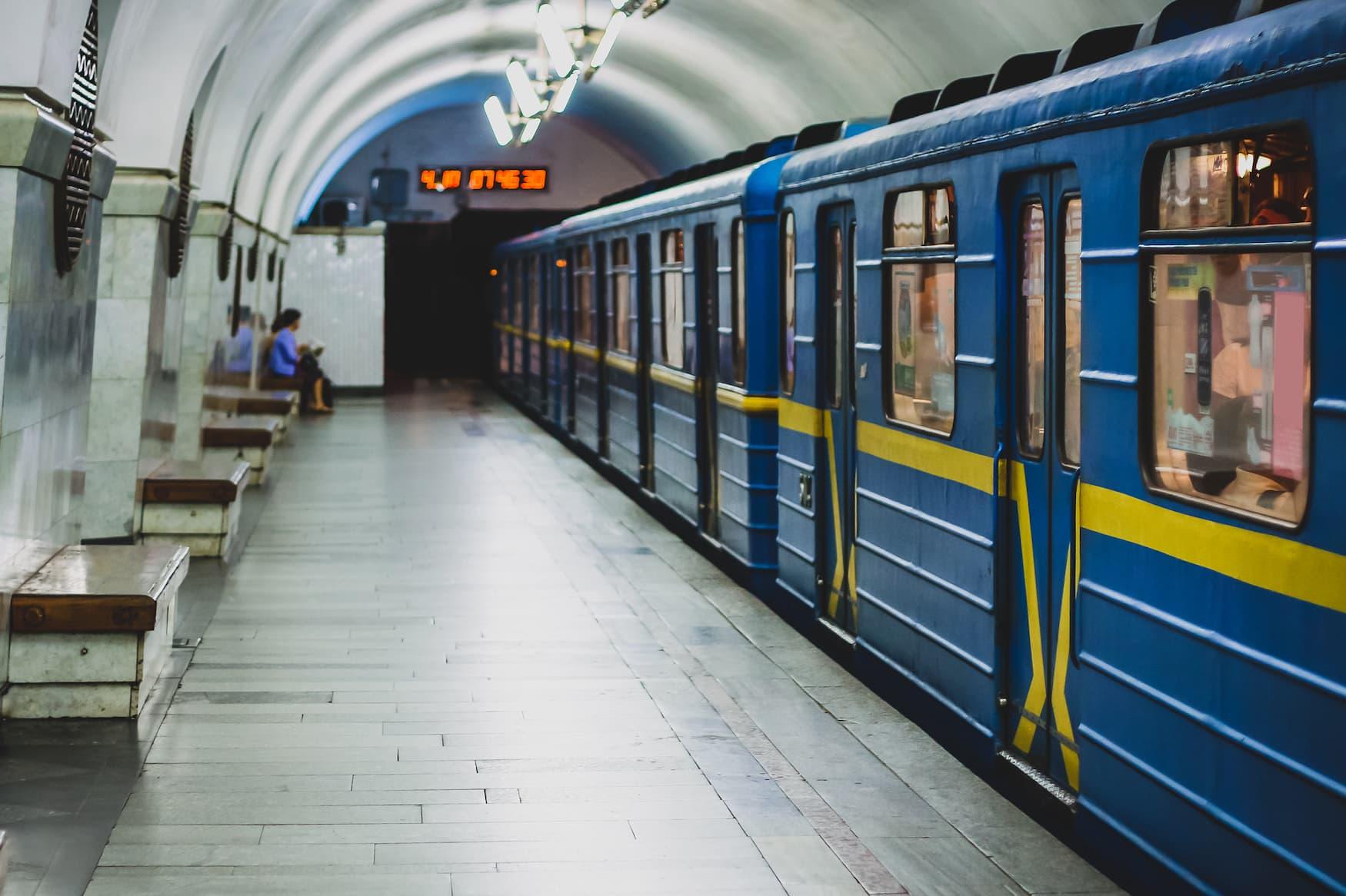 U-Bahn-Station in der ukrainischen Hauptstadt