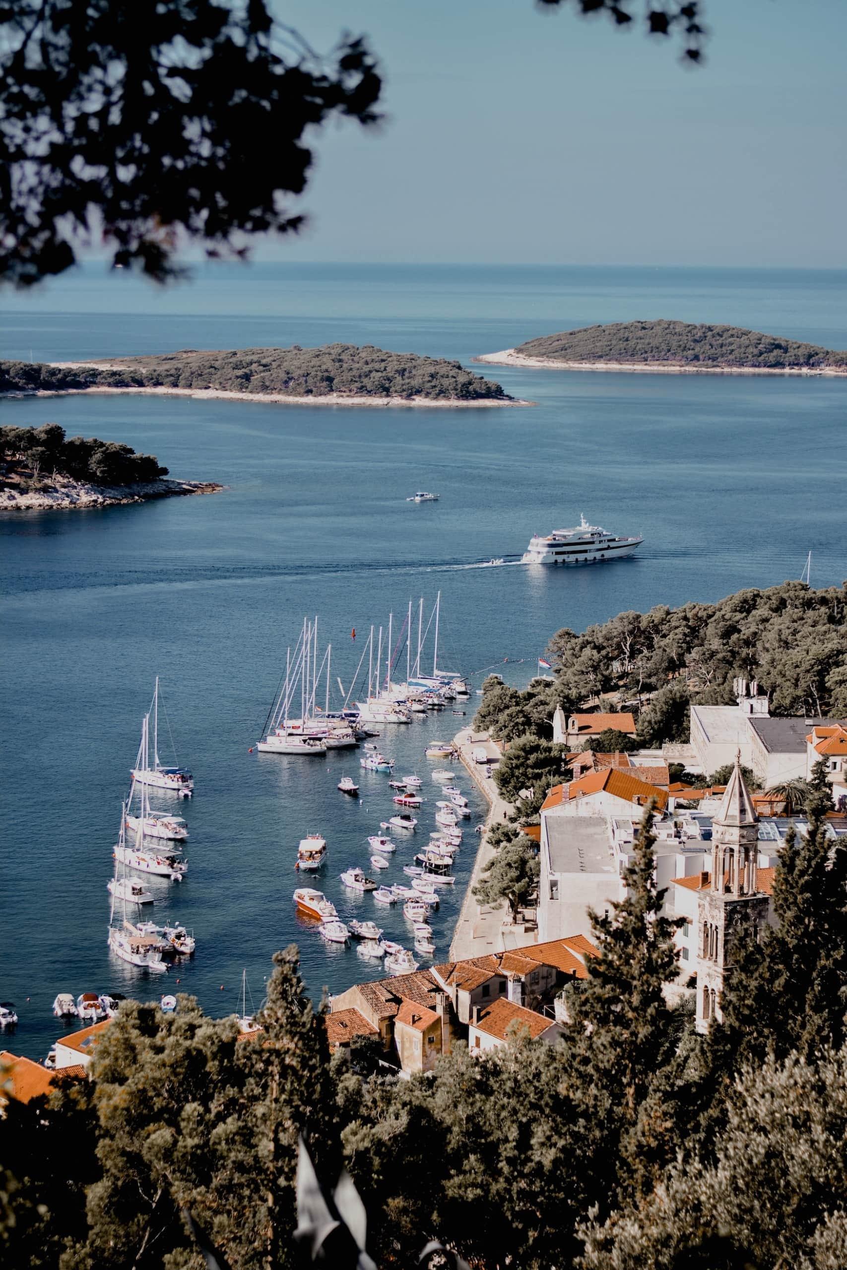 Hafen von Hvar