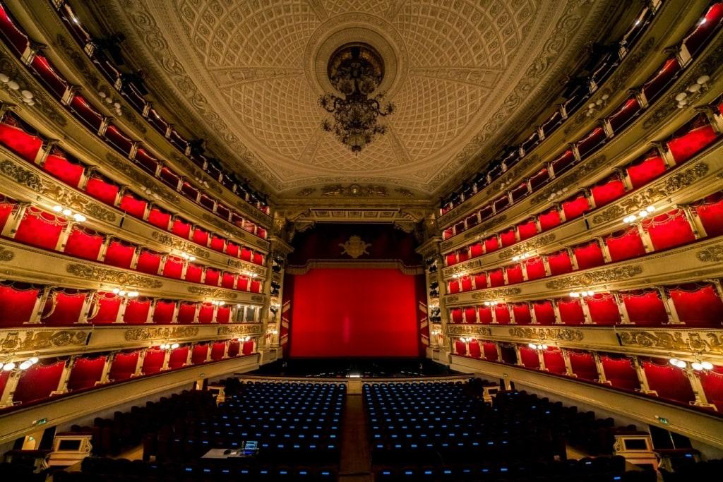 Die Oper in Mailand solltet ihr Euch nicht entgehen lassen!