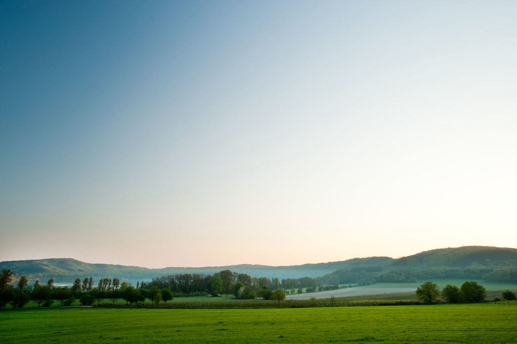 Landschaft rund um den Laacher See