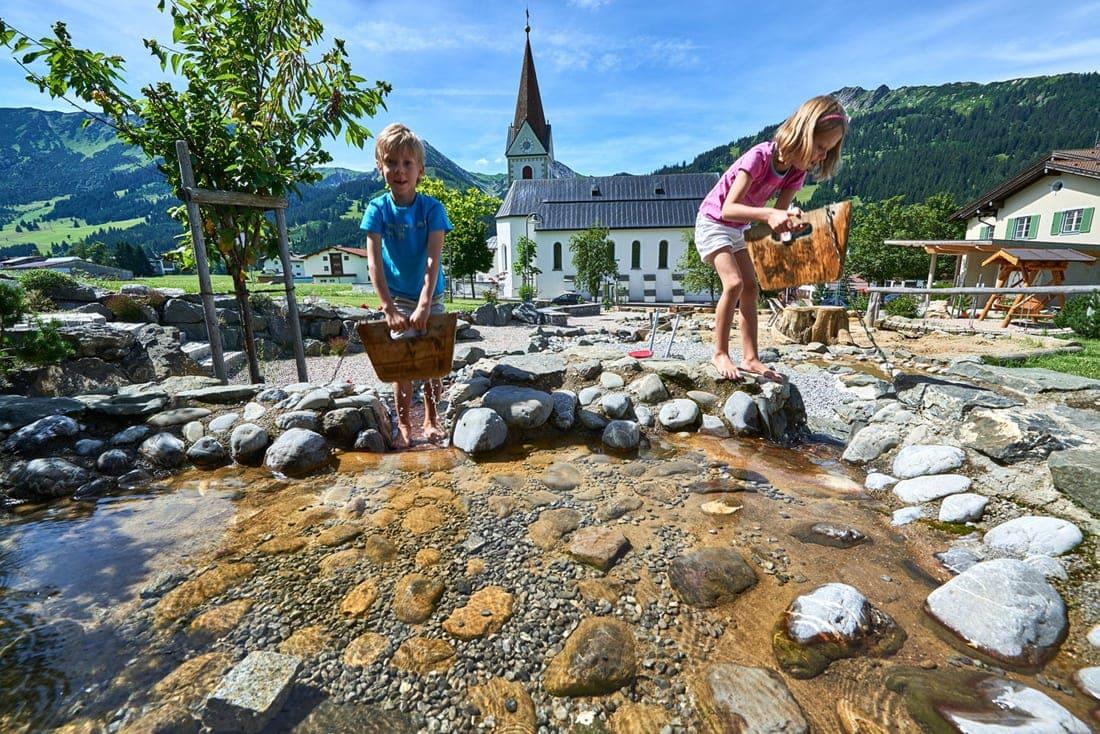 Reiseziele für Familien: das Tannheimer Tal