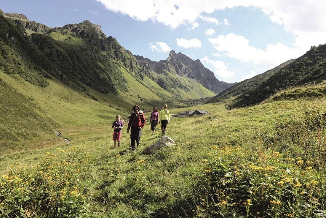 Reiseziele für Familien: Silvretta Montafon in Österreich