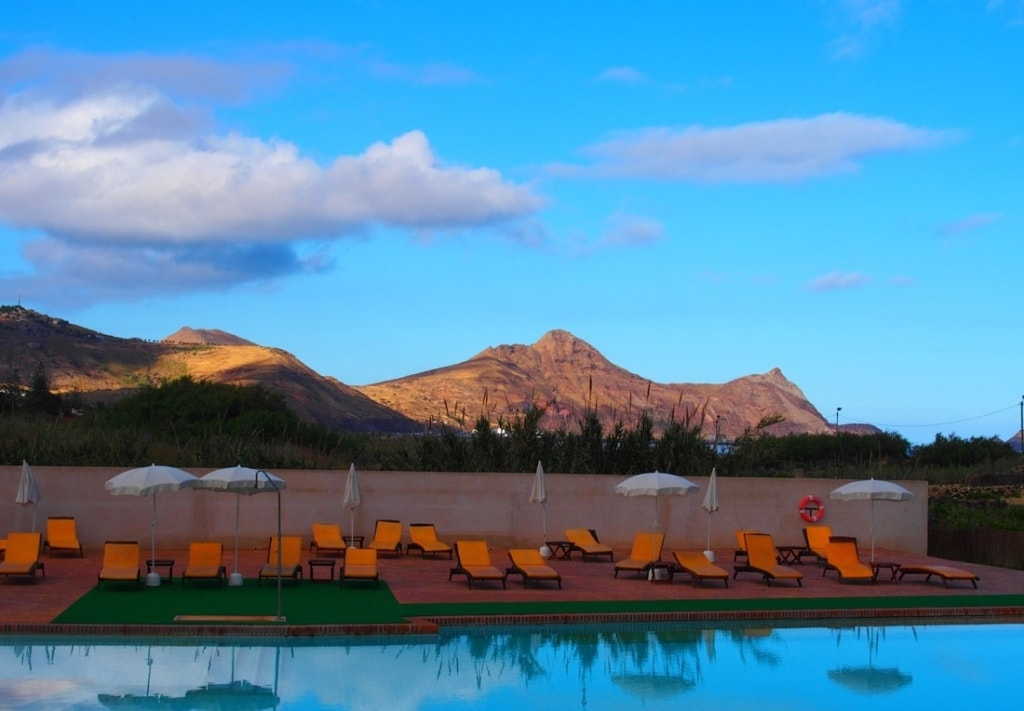Swimmingpool vom Hotel Porto Santo