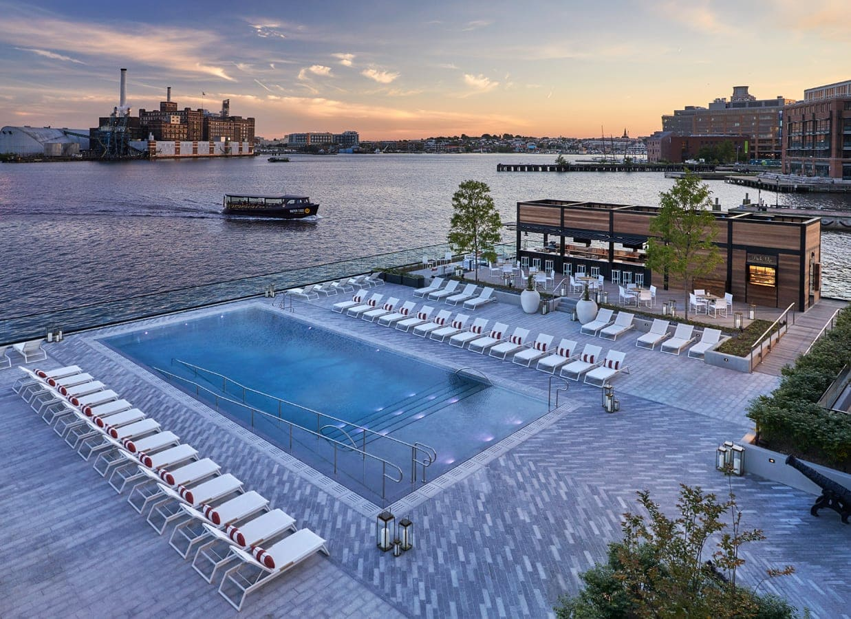Sagamore Pendry Baltimore Pool