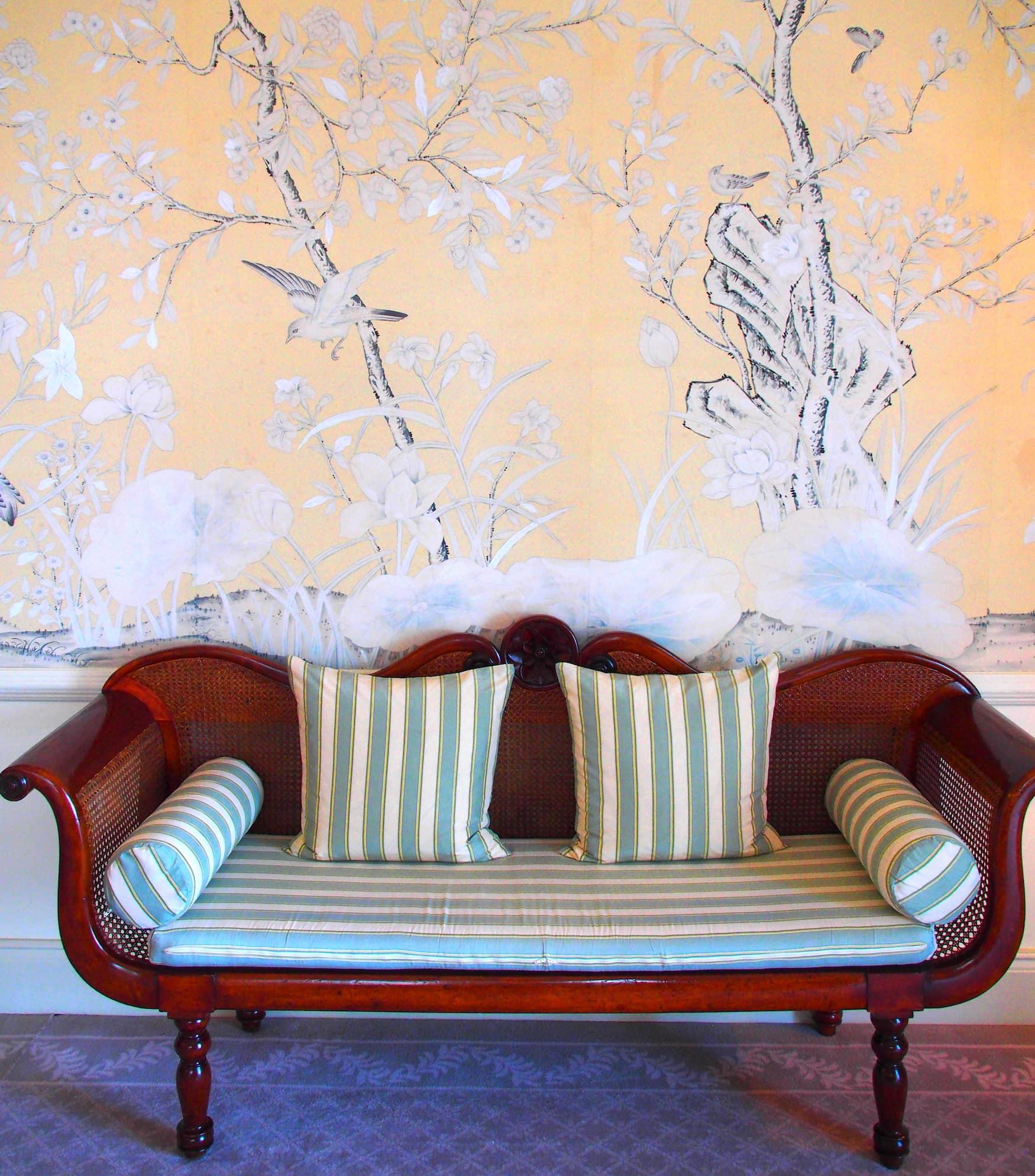 Sofa im Belmond Reids Palace