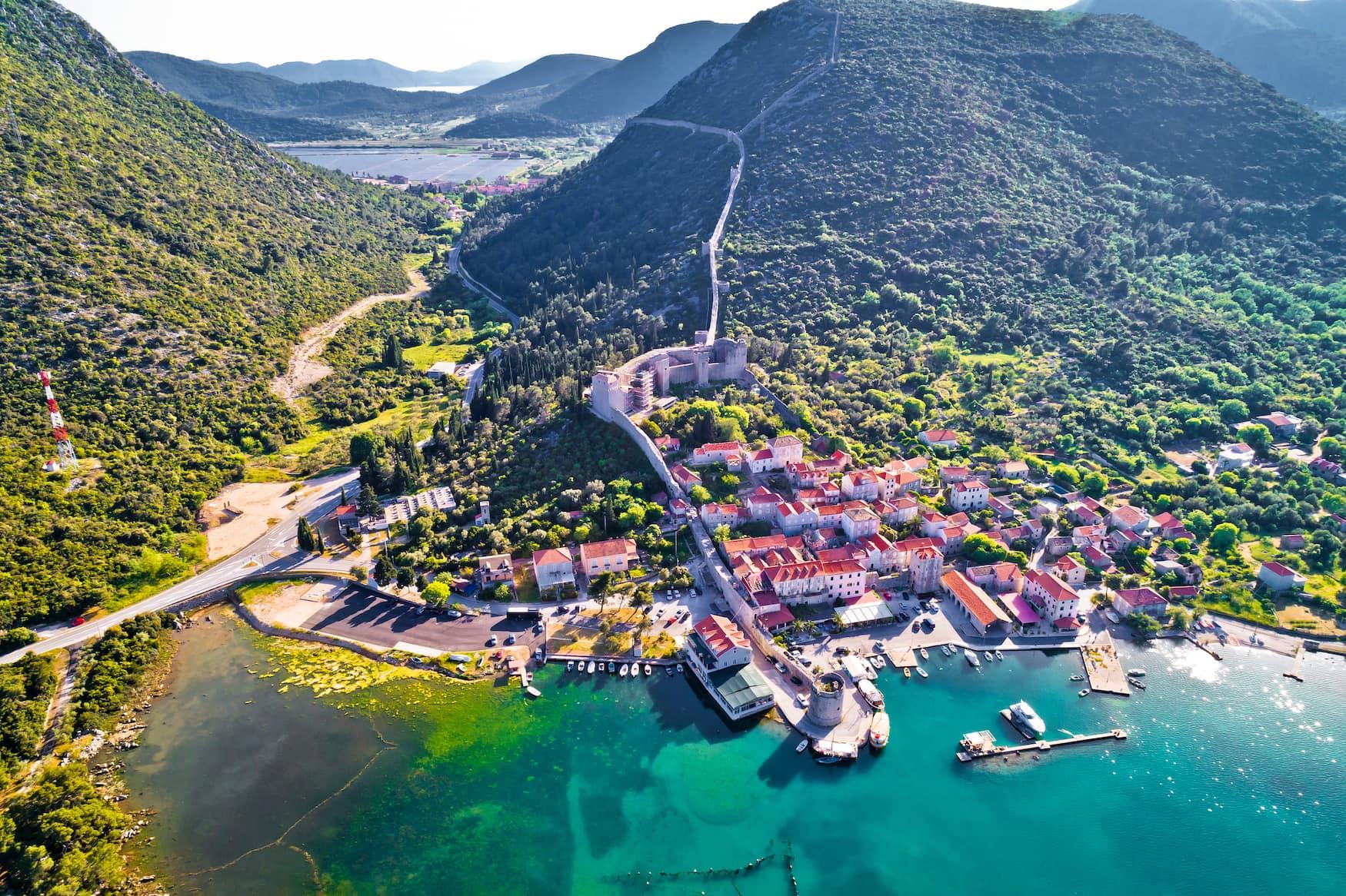 Mali Ston, einer der Geheimtipps in Kroatien