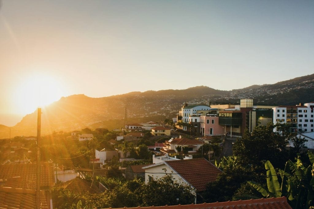 Die wunderschöne Insel Madeira, Portugal. Heimat von Christiano Ronaldo.