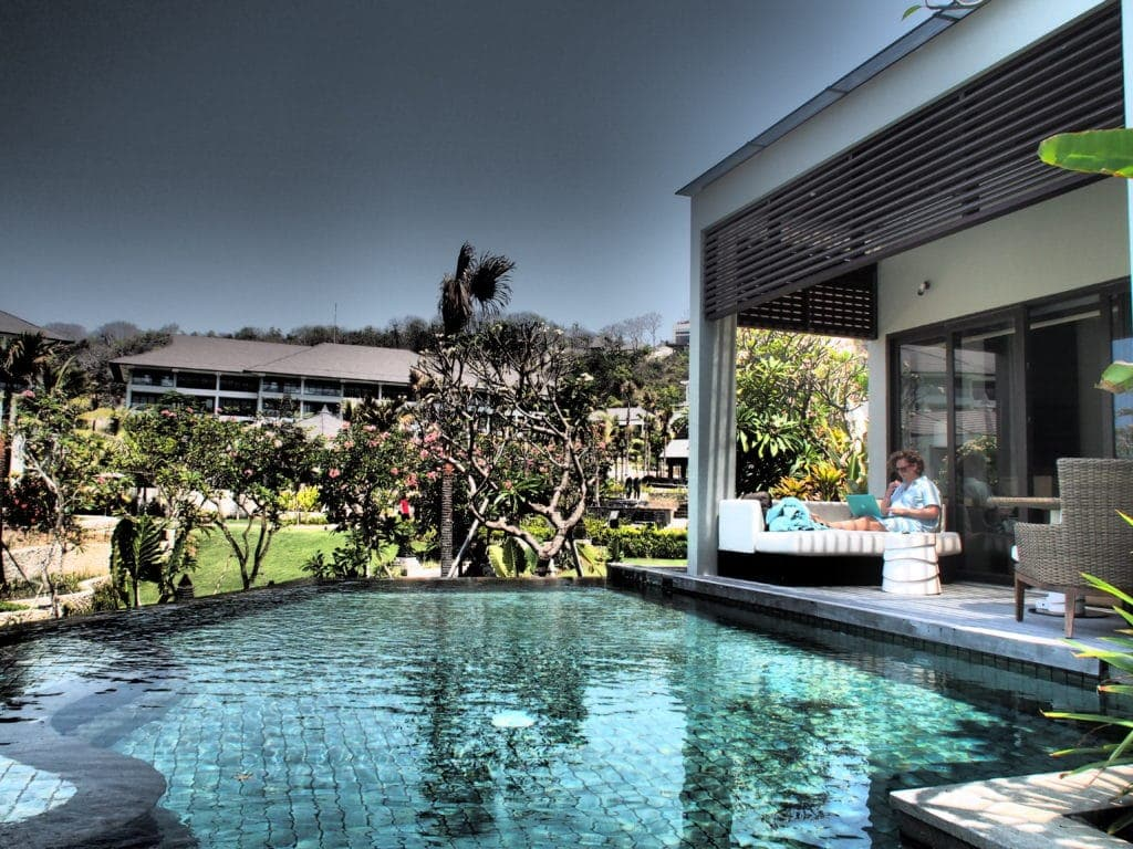 Privatsphäre hoch fünf mit eigenem Pool - Ritz Carlton Nusa Dua- bali