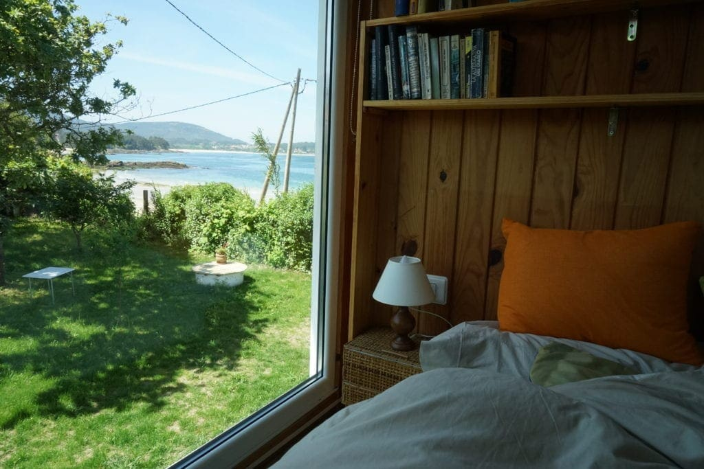 Ferienhaus am Meer in Galicien