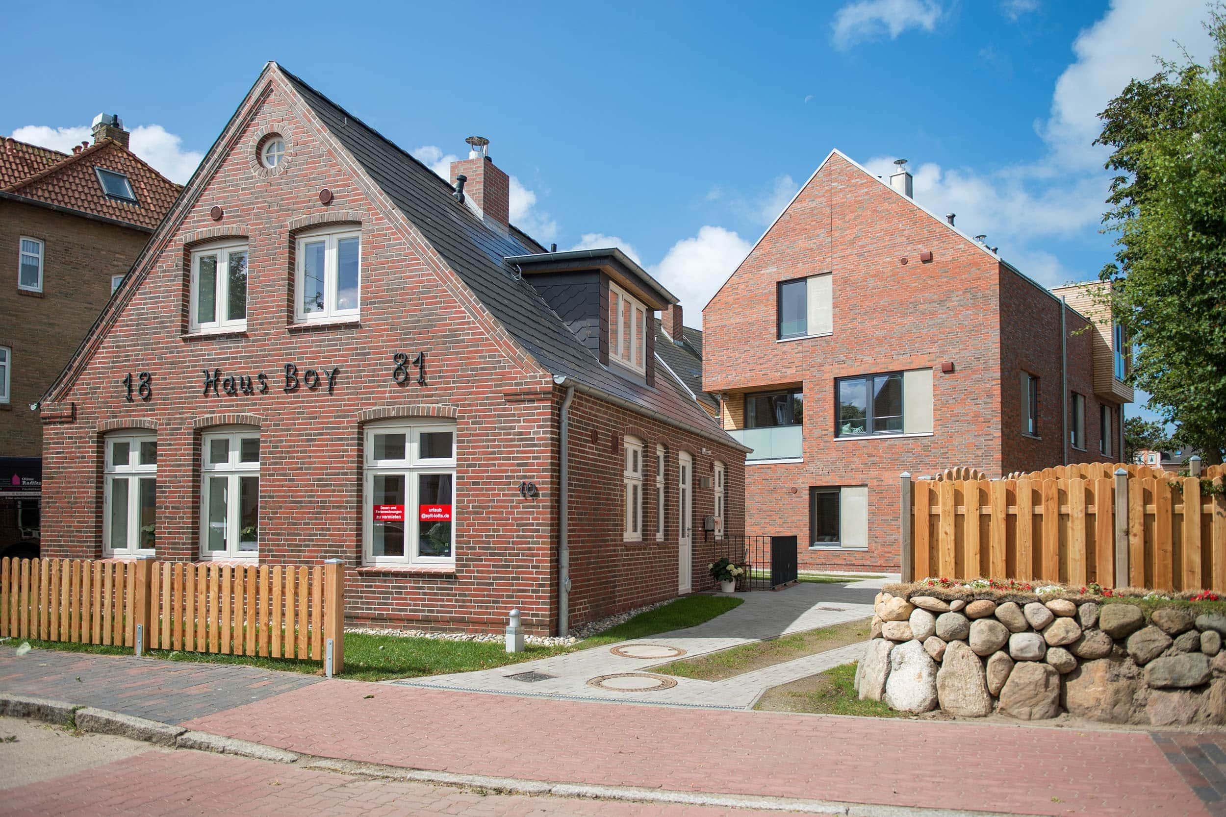 Sylt Lofts: Blick auf das Haus Boy