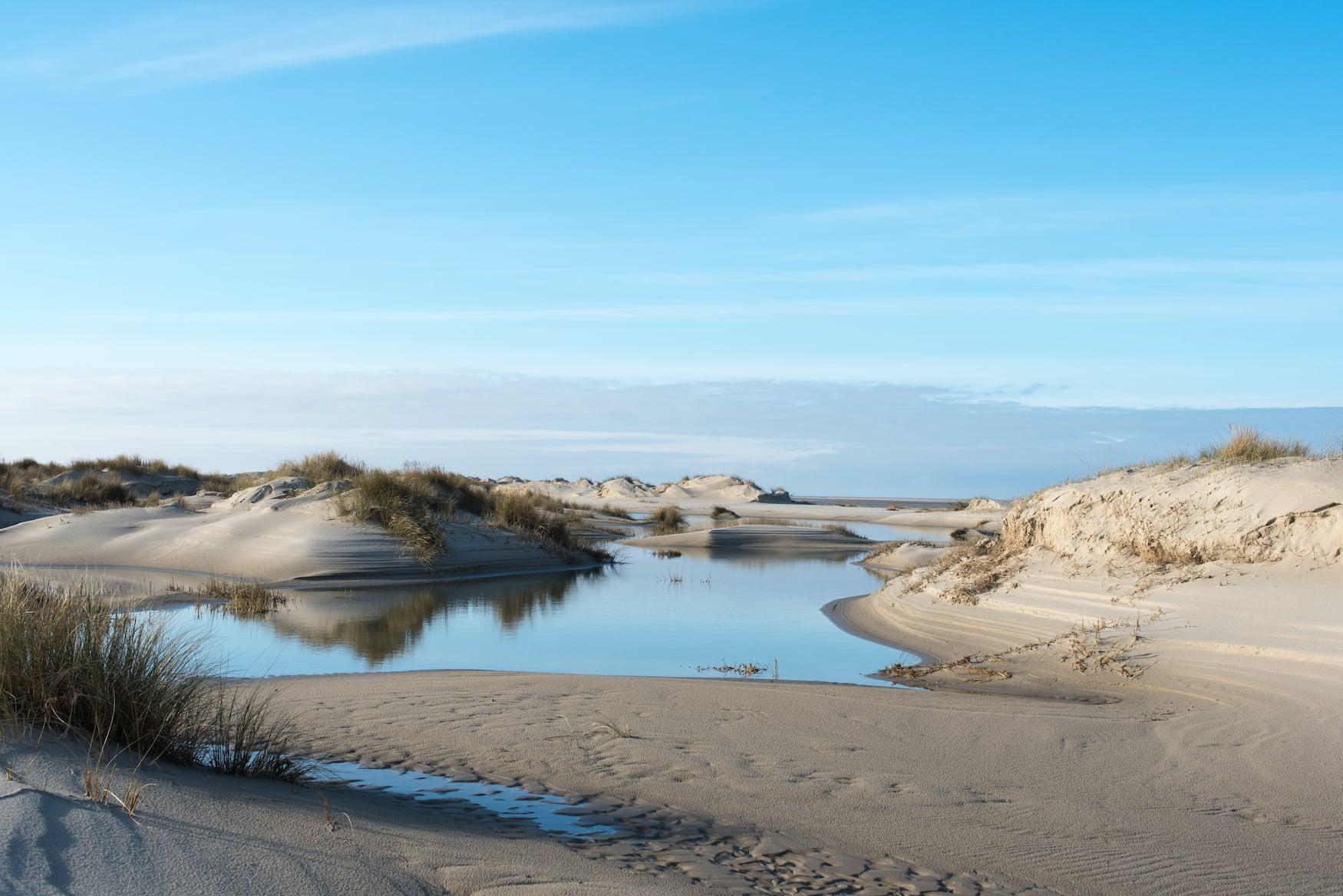 Kniepsand auf der deutschen Nordsee-Insel Amrum