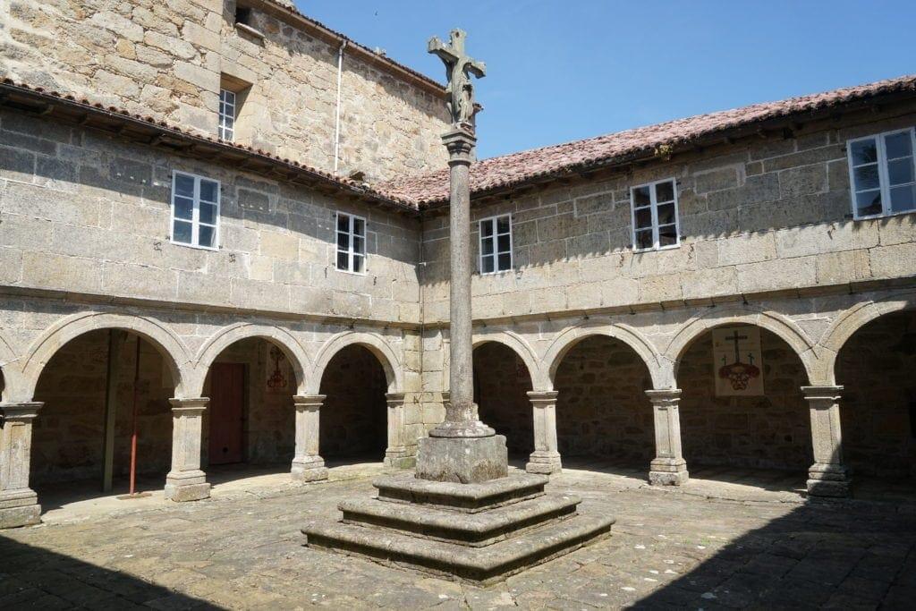 Kloster San Antonio de Herbón in Galicien