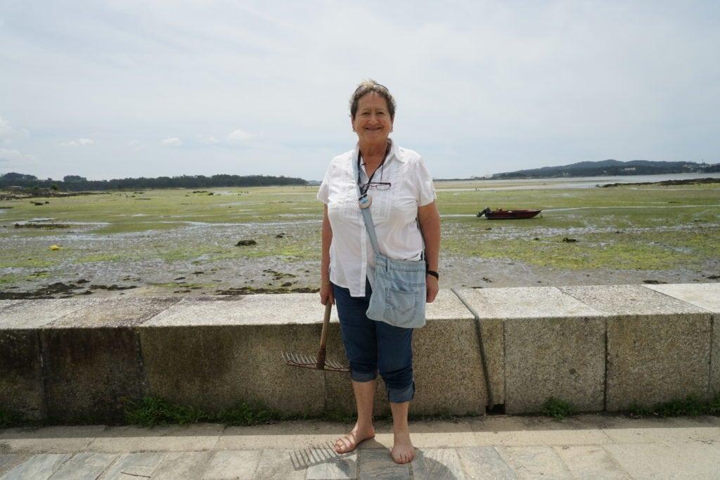 Muschelsammlerin Victoria in ihrer Heimat Galicien