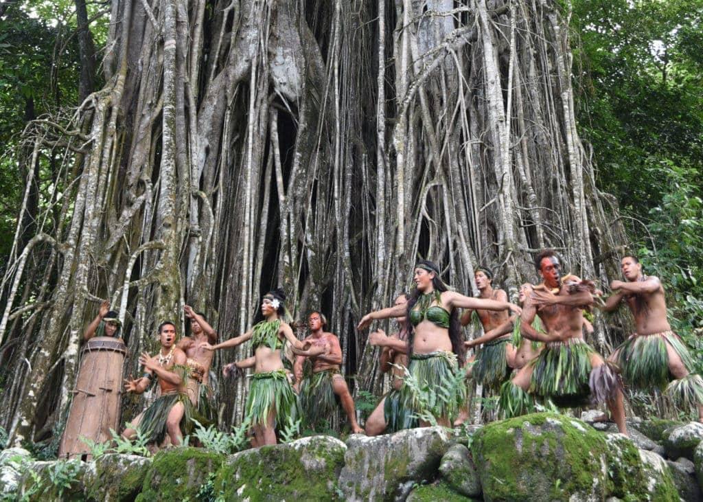 Ritueller Schweinetanz auf den Marquesas