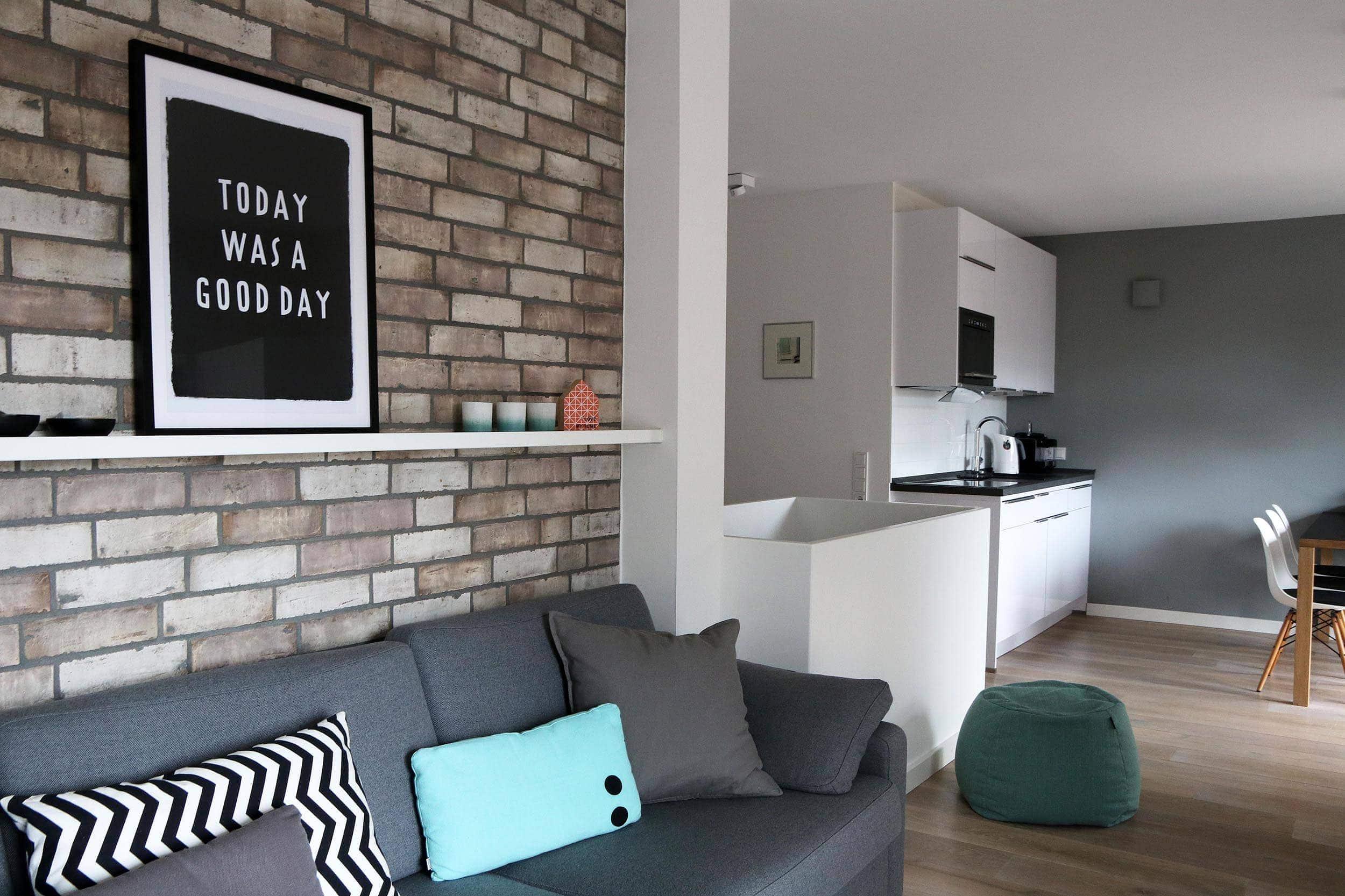 Sylt Lofts: Blick in die Küche