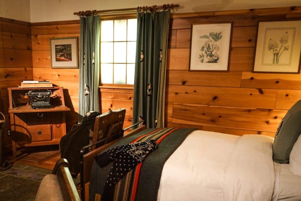 Die Timberline Lodge ist eigentlich ein bewohnbares Museum