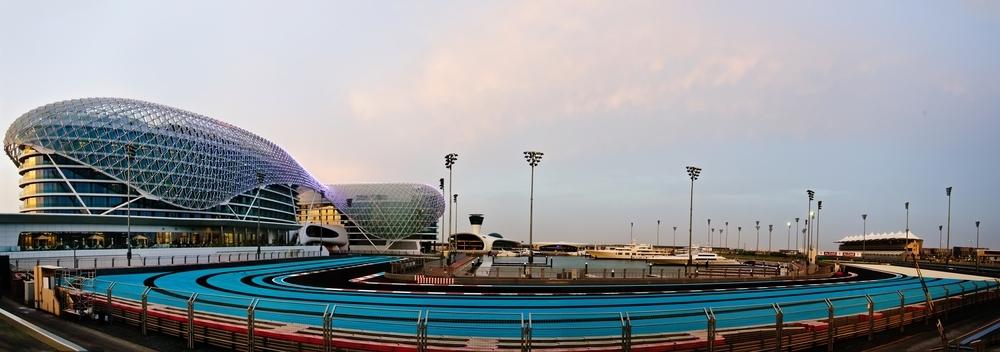 Hotel bei der Yas Marina Circuit