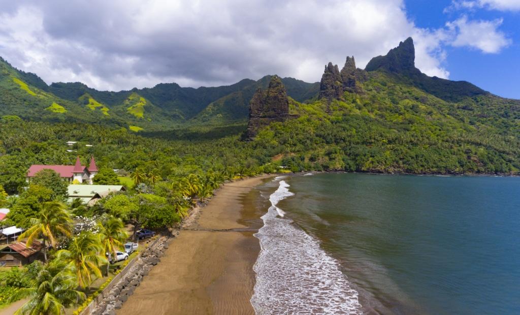 Landgang: Die Aranui 5 tuckert zwei Wochen lang durch Tahiti und die Marquesas-Inseln und besucht verschiedenste Inseln.