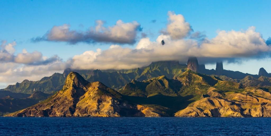 Wilde Schönheiten warten entlang der neuen Route der Aranui 5 in der Südsee.