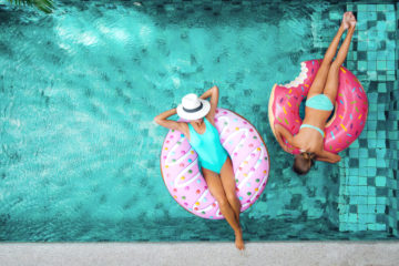 Reiseangebots-Floskeln: Ruhiger Pool?