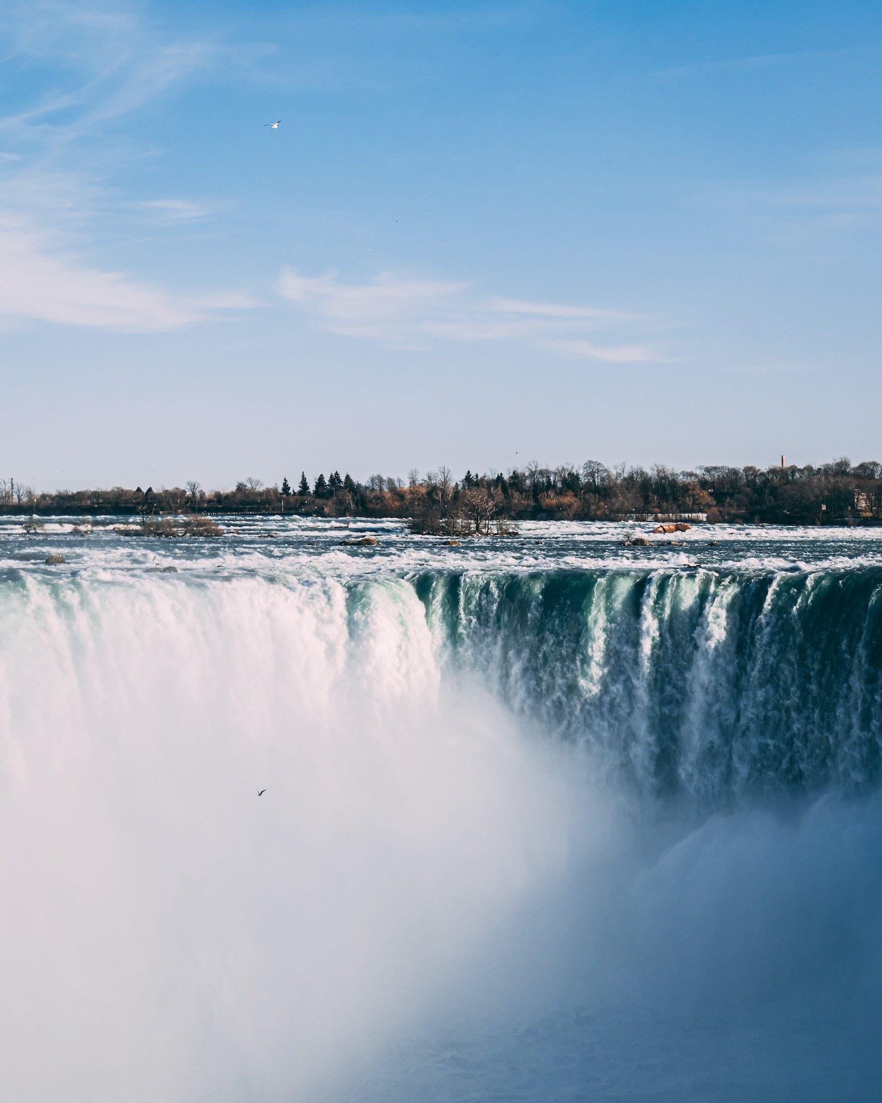Niagarafälle in Kanada sind nicht die höchsten Wasserfälle der Welt, das ist ein Reise Irrtum