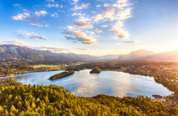 Unterwegs in Kärnten: der Faaker See