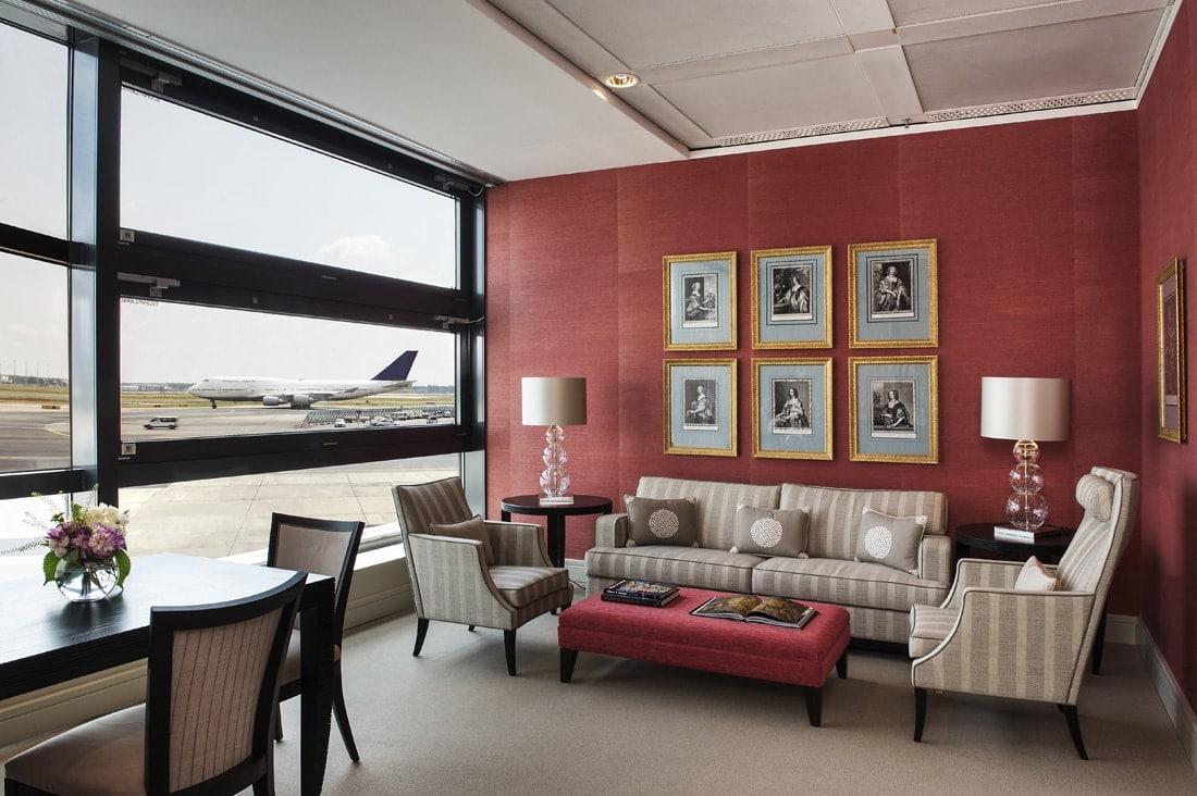 VIP-Service des Frankfurter Flughafens: Suite mit Aussicht