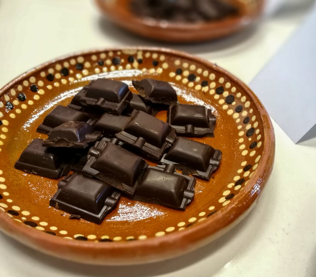 Gold der Azteken - Schokolade, mexico City